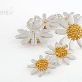 Daisy Triple Drop Earrings