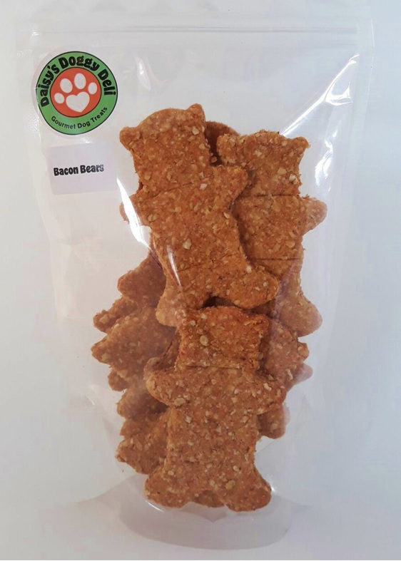 Daisy's Doggy Deli Bacon Bear Cookies