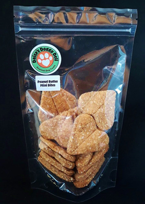Daisy's Doggy Deli Peanut Mini Bite Cookies
