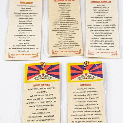 Dalai Lama Bookmark