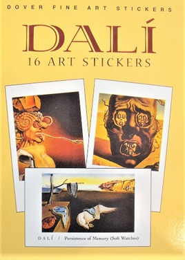Dali: 16 Art Stickers