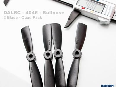 DALRC - 4045 - Bullnose -  2 Blade - Quad Pack