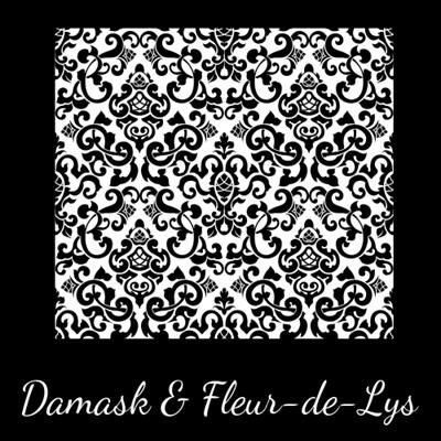 Damask & Fleur-de-Lys