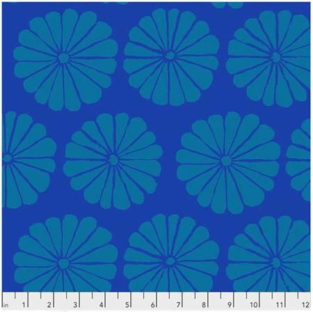 Damask Flower Blue PWGP183122