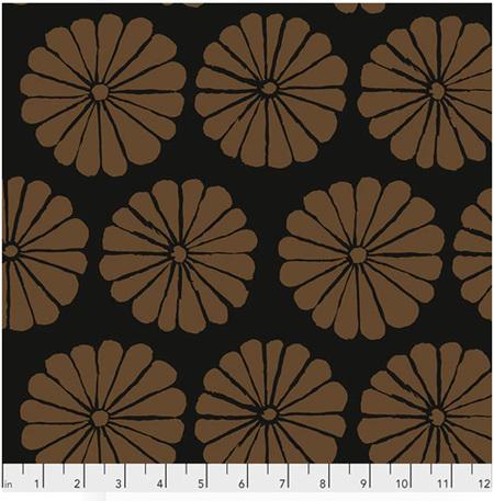 Damask Flower Brown PWGP183106