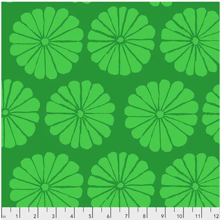 Damask Flower Lime PWGP183132