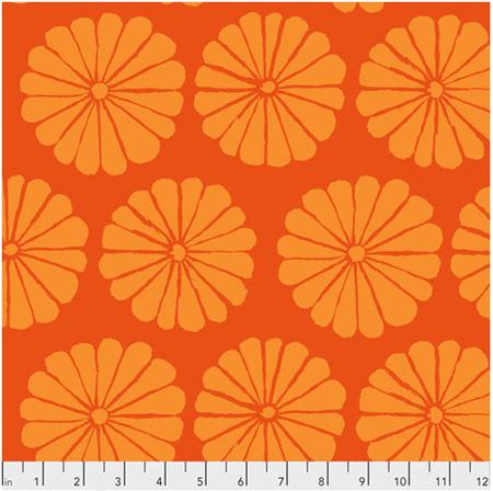 Damask Flower Orange PWGP183112