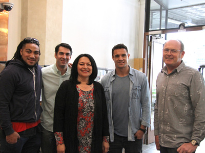 Dan Carter & Ma'a Nonu at The Village Goldsmith