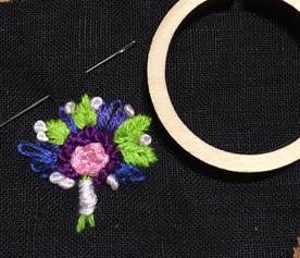 dandelyne mini hoop