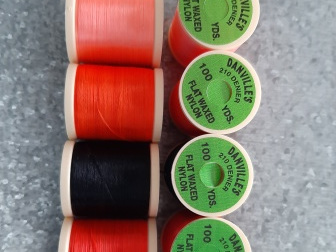 Danvilles 210 Denier Flat Waxed Thread - 5 spools