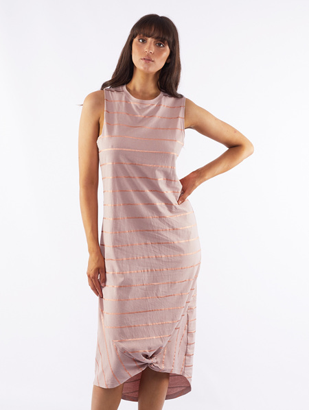 Daria Rose Stripe Maxi