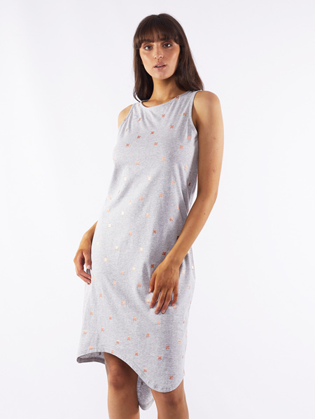 Daria Strike Midi Dress