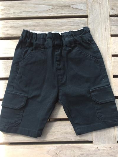 Dark blue green shorts