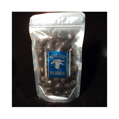 dark chocolate coated macadamias, bigger pack