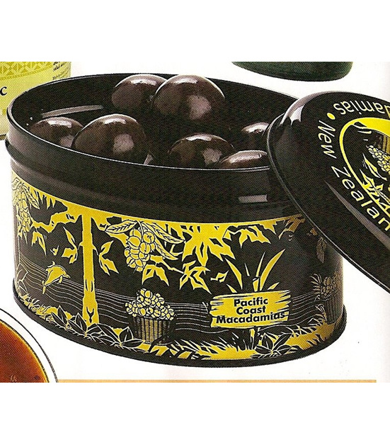 Dark Chocolate Macadamia Nuts 140g