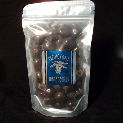 Dark Chocolate Macadamia Nuts 400g