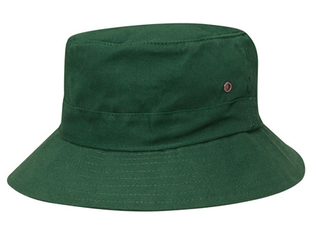 Dark Green Bucket Hat