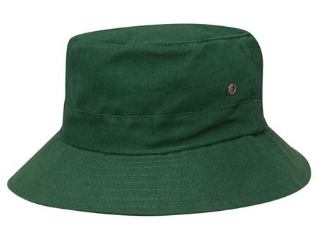 Dark Green Bucket Hat