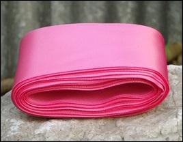 Dark Pink Wedding Car Ribbon
