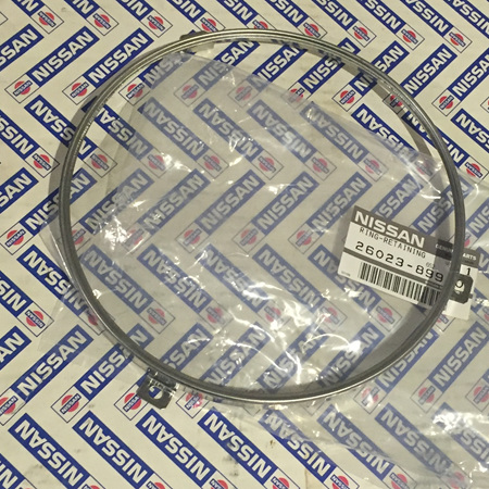 Datsun Round Headlight Chrome Rim