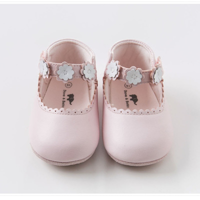 Dave and Bella pink leather shoes pre-order