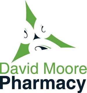 David Moore Pharmacy Logo