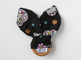 Day of the Dead Bunny Teether