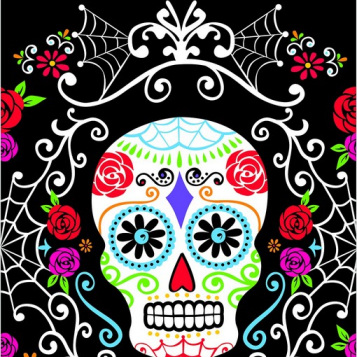Day of The Dead tablecover