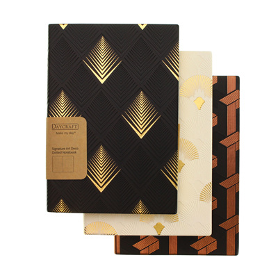 Daycraft Artdeco notebook - A5 DOTTED