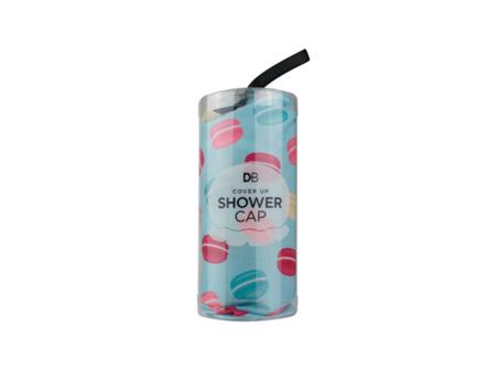 DB shower cap macaroon