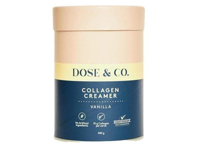 D&C Collagen Creamer Vanilla 340g