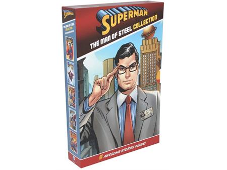 DC Comics Superman Man of Steel Collection 5 Books