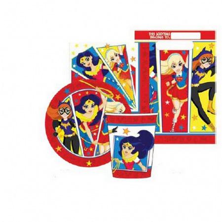 DC Superhero girls 40 piece party pack.