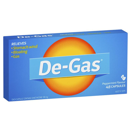 De-Gas 24 Capsules