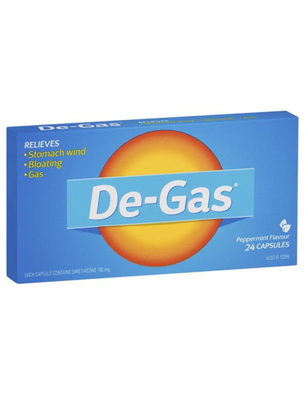 DE-Gas Capsules 24