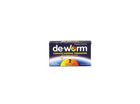 DE-WORM 100mg 2tabs