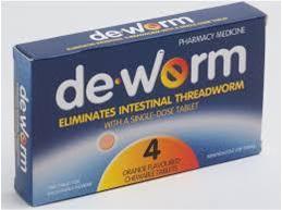 DE-WORM 100mg 4tabs
