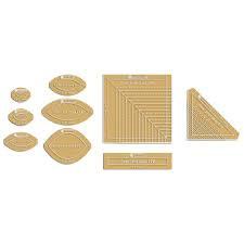 Dear Jane Paper Pieces Acrylic Templates