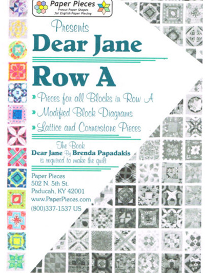 Dear Jane - Row A Pack