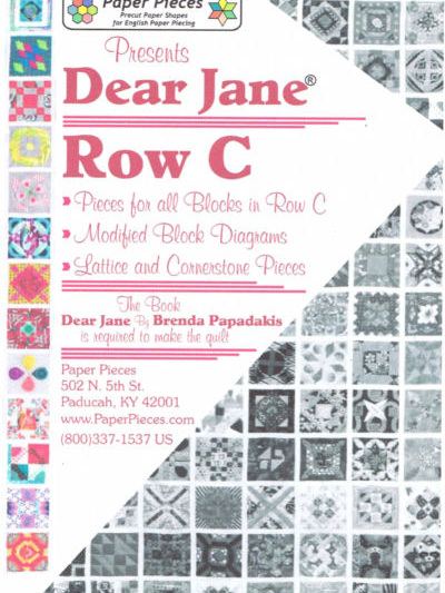 Dear Jane - Row C Pack