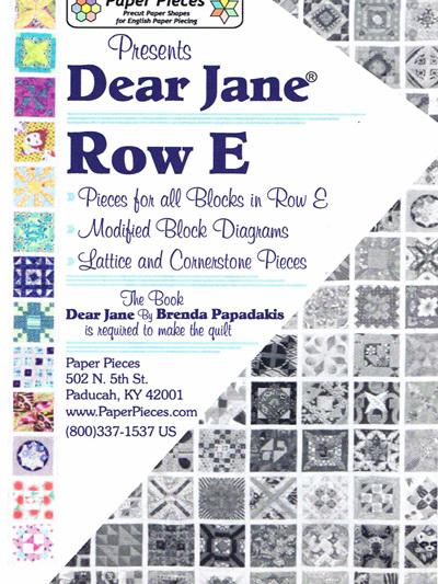 Dear Jane - Row E Pack