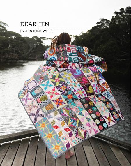 Dear Jen Booklet from Jen Kingwell Designs