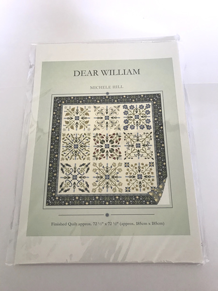 Dear William Applique Quilt Pattern