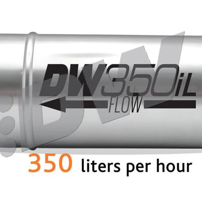 Deatschwerks 350iL 750+ HP In-Line Fuel Pump