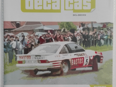 Decalcas 1/24 Opel Manta 400 Group B Bastos Texaco Rally Team 24 Hours de Ypres Rally, Condroz Rally