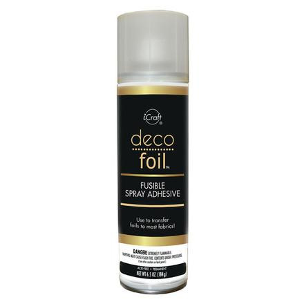 Deco Foil Fusible Spray Adhesive for Fabric