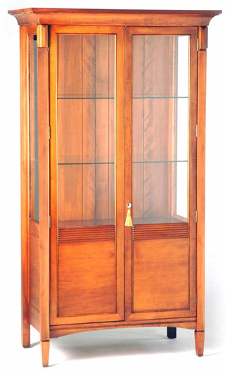 Charters Tall Display Cabinet