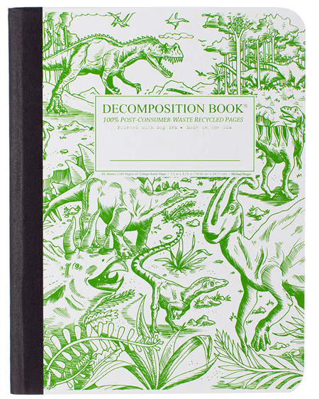 Decomposition Notebook - Dinosaurs