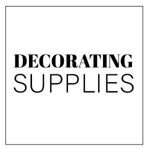DECORATING SUPPLIES