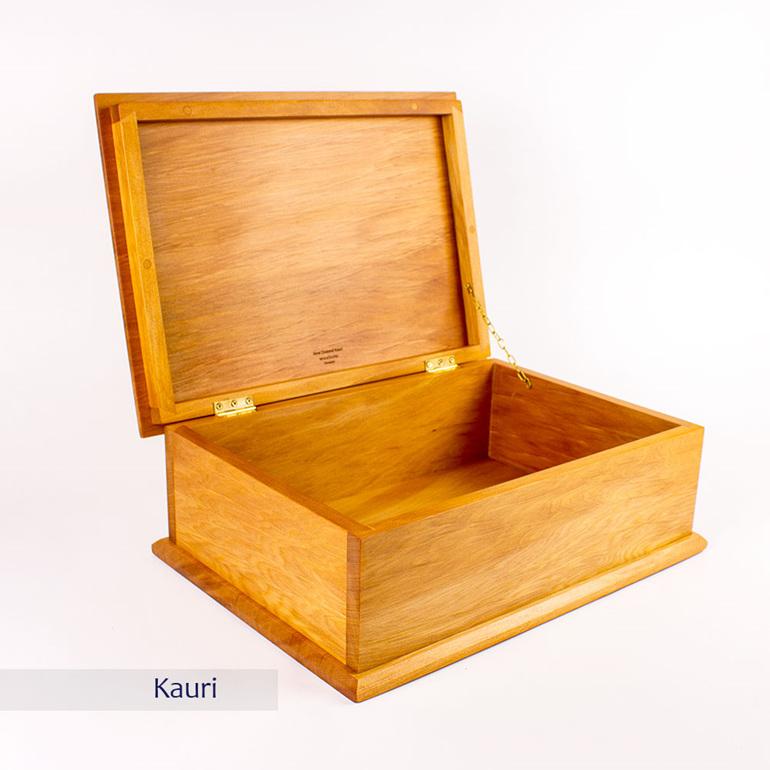 deeds box - kauri